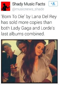 Shady Music Facts with Lana Del Rey #LDR