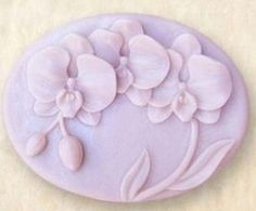 Allforhome Orchid Craft Art Silicone Soap mold Craft Moulds DIY Handmade soap molds