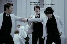 Donghae, Kyuhyun and Eunhyuk