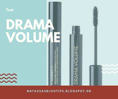 Natassa's blog tips: Drama volume Korres μάσκαρα δοκιμή Blog Tips, Eyeliner, Drama, Eye Liner, Dramas, Drama Theater, Eyeliner Pencil