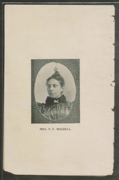 Mossell, N. - Little Dansie's One Day at Sabbath School. [Philadelphia : The Penn Printing and Publishing Co., From the African American Perspectives Collection in the Rare Book and Special Collections Division at the Library of Congress. Sabbath, Library Of Congress, African American History, School Teacher, Black History, Short Stories, Photo Book, Division, Philadelphia