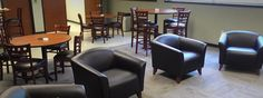 Breakroom, Seating, club chairs. office furniture