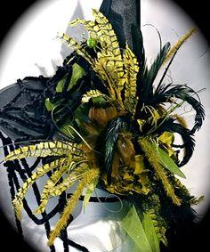Goblin Garden Witch Hat Halloween Costumes OOAK by Marcellefinery, $92.00