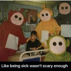 Sometimes,I watch #Teletubbies #scary #meme
