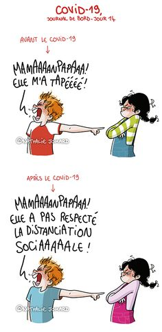 Illustration : Nathalie Jomard - grumeautique.blogspot.fr Tour Eiffel, Haha, Acting, Comics, My Love, Funny, Illustration, Chistes, Funny Jokes