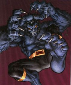 Beast °° X-Men °° Henry McCoy °° Super Agility °° Enhanced Durability °° Paranormal Physical Strength/Prowess/Endurance °° Marvel Comics °° Genious I.Q.