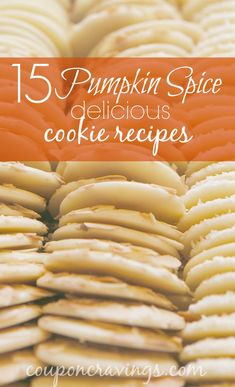 Mmm... Fall... a time for fall food, a warm tea, falling leaves and of course, pumpkin recipes... Get 15 of the most delicious pumpkin cookies all in one spot. The hardest part will be determining which fall cookie recipes to choose.   http://couponcravings.com/15-pumpkin-spice-cookie-recipe-favorites/