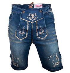 #Almwerk #Herren #Trachten #Jeans #Lederhose #kurz #Modell #Platzhirsch…