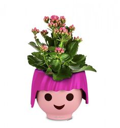 Lechuza OJO, pink | Amadeo Ambiente Innovation, Planter Pots, Pink, Style, Barn Owls, Eyes, Playmobil, Water Supply, Innovative Products