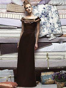 Lela Rose #brown #bridesmaid #dress