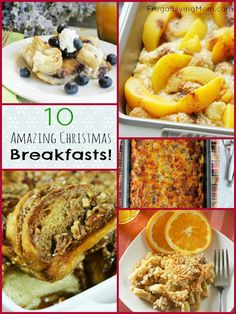 It'€™s not Christmas Time yet, but there are some of us that really like to plan ahead!! Plus, these breakfasts aren't just good for the holidays, you can enjoy them anytime!!
