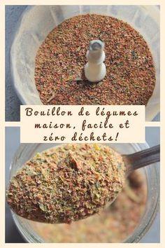 Bouillon de légumes en poudre maison! Facile et rapide à préparer! Zéro déchets! #zerodechets #zerowaste #bouillon #homemade #légumes