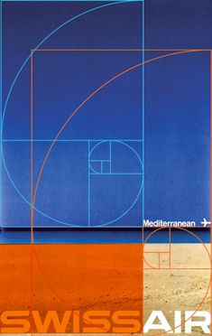 Design firm AdamsMorioka demonstrate how the Golden Section, also known as the Golden Mean, Golden Ratio or Divine Proportion, is used extensively in Swiss Typography. Here they demonstrate it's use in a piece by Manfred Bingler.