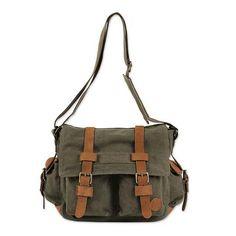 Journey to manu messenger bag