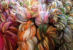 I spin most of my handspun yarns for my own wool prop items so, I thought I would offer a sampling of my Angel Spun Yarns:)    Angel Spun Yarns Supa Sampler Grab Bag - FREE U.S. SHIP