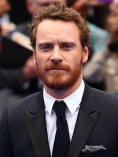 FASSBENDER! Oh, how I love that ginger beard <3