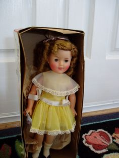 1950s ShiRLeY TeMpLe DOLL - Ideal