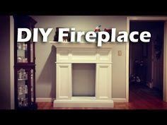 DIY CRAFTS: Decorative cardboard fireplace - Isa ❤️ - YouTube