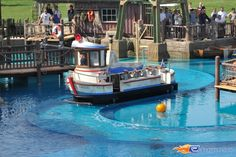 4/14 | Photo de l'attraction Whale Adventures Splash Tour située à @Europa-Park (Rust) (Allemagne). Plus d'information sur notre site http://www.e-coasters.com !! Tous les meilleurs Parcs d'Attractions sur un seul site web !!