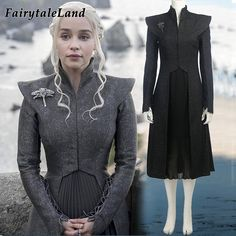 Daenerys Targaryen cosplay costume custom made Halloween Dress suit Cosplay Game of Thrones Season 7 costume Fancy dress-in Movie & TV costumes from Novelty & Special Use on Aliexpress.com | Alibaba Group