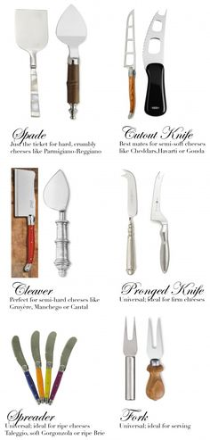 what all those cheese knife sets are really for (via my & my sister's blog http://agoodhostess.com)