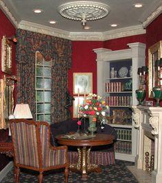 SPLENDID SOLITUDE     Whitledge-Burgess,LLC Interior Design In Miniature // Introduced at Texas Miniature Showcase 2008 . . . SOLD
