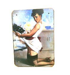 Retro! 50-tals skylt nr 2 Polaroid Film, Retro, Painting, Painting Art, Paintings, Retro Illustration, Painted Canvas, Drawings