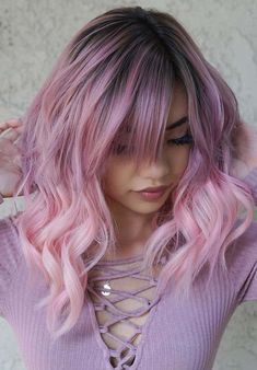 Top 50 Dreamy Pink & Lavender Hair Color Trends for 2018. Here you may find the amazing trends of pink and lavendar hair colors for long and medium haircuts to sport in 2018. Visit this post and learn how to choose the best styles of various hair colors and combinations to make you look gougers and cute. We've collected these pink hair colors especially for you in 2018.