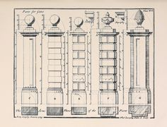 elevations for piers