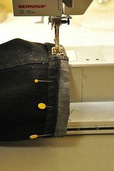 Hemming Jeans While Keeping Original Hem