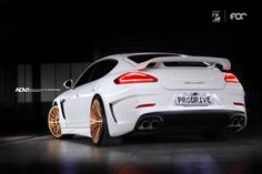 TechArt Grand GT Porsche Panamera built by Prodrive in Bangkok. Wheel Specs: ADV15 M.V2 SL Exposed Hardware Finish: Brushed Rose Gold 22x10 | 22x12