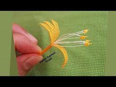 Hanımeli çiçeğinin çok basit şekilde püf noktalı yapım aşamaları👉 İğne oyası öğrenmek istiyorum👈 - YouTube