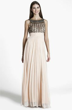 JS Collections Embellished Chiffon Gown | Nordstrom brides maid ideas