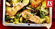 Yhdessä astiassa valmistuva ruoka säästää tiskiä.