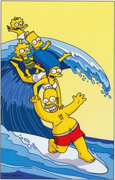 Learn more about the Simpsons Surfing Postcard at the hobbyDB database Simpsons Drawings, Simpsons Cartoon, Simpsons Characters, Simpson Wallpaper Iphone, Cartoon Wallpaper Iphone, Cute Disney Wallpaper, The Simpsons Wallpapers, Cute Cartoon Wallpapers, Wallpapers Android