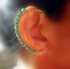 An ear ring from junkshopgirl.blog...