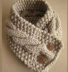 """diy_crafts- """"Cable Knit Neck Warmer for Dad.just need to learn cable knit"""", """"Cable-Knit Cowl looks like a quick knit, plus I love knitting ca Knit Or Crochet, Crochet Scarves, Crochet Hooks, Crochet Neck Warmer, Crochet Humor, Crochet Mandala, Crochet Afghans, Crochet Blankets, Crochet Granny"""