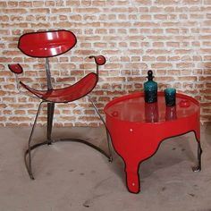 Upcycled oil drums furniture by The Urbanite Home – upcycleDZINE
