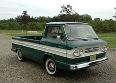 Cleanest Around: 1962 Chevrolet Corvair 95 Rampside