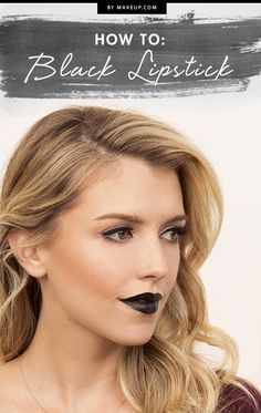 Afraid of a little black and blue lipstick? Don't be - these colors are simply fabulous for fall! We'll show you how to rock these dark shades this season without looking scary.
