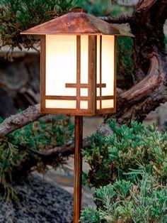 Garden Lantern, Shoji