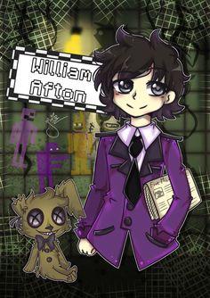 Fnaf belongs to Scott Cawthon William Afton - [FNAF] Afton Familly Five Nights At Freddy's, Fnaf 4, Anime Fnaf, Freddy S, Animatronic Fnaf, Vincent Fnaf, Fnaf Night Guards, Fnaf Baby, Fnaf Wallpapers