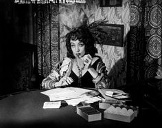 """""""He was some kind of a man. What does it matter what you say about people?"""" Marlene Dietrich as Tanya in Touch of Evil"""