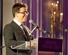 Michael McIntyre hosts The Prince's Trust Invest in Futures Gala Dinner, which was supported by Bank of America Merrill Lynch and raised one million pounds for the charity. #michaelmcintyre #princestrust