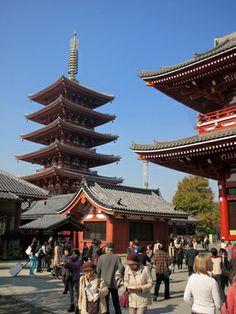 Askusa Park Five Story Pagoda