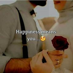 Islamic love quotes - Happiness Tag your happiness happiness facelove loveface happylovequotes Happy Love Quotes, First Love Quotes, Love Husband Quotes, True Love Quotes, Couple Quotes Tumblr, Couples Quotes Love, Cute Couple Quotes, Islamic Love Quotes, Muslim Love Quotes