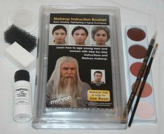 Mini Pro Student Kit theatrical shading highlighting aging acting school learn  #Mehron
