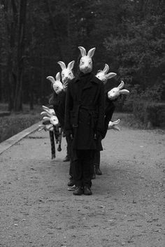 "From the ""Bunnyland"" series - Photography by Alena Beljakova, 2009. ☚"