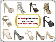 11 heels you need for a spectacular New Years Eve party New Years Eve Party, Party Fashion, Beautiful Dresses, High Heels, Articles, Sandals, Elegant, Men, Shopping