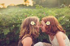 Eskimo kisses? - Warthan Farms Photography